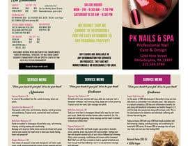 nº 3 pour Need a TriFold Brochure design for Nail Salon par Win112370