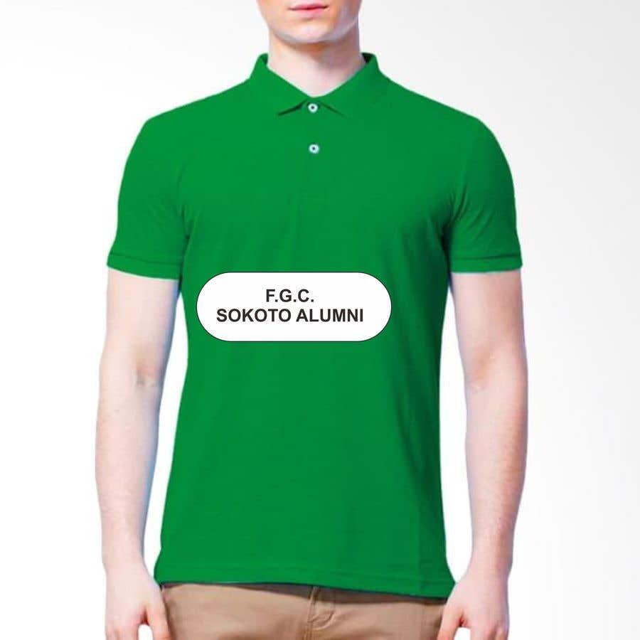 Konkurrenceindlæg #22 for Design a Polo Shirt for my Alumni