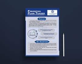nº 104 pour Build a Financial Teaser par MAamirNiazi