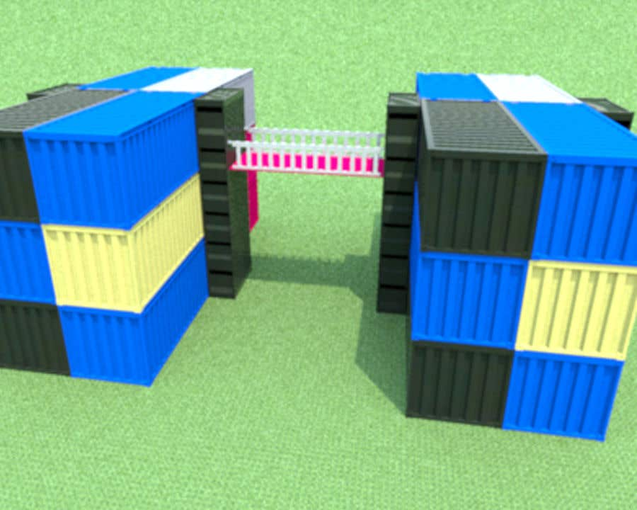 Proposition n°2 du concours Shipping Container Building Renderings