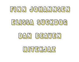 #94 untuk Illustrate some text in the same style as my examples oleh mdfahimhossain32