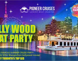 #36 for Designing Creatives for Bollywood Boat Cruise Party by pinky2017