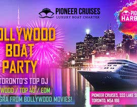 #43 for Designing Creatives for Bollywood Boat Cruise Party by fahimaziz2