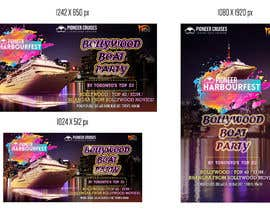 #40 for Designing Creatives for Bollywood Boat Cruise Party by gumelarkrisna1