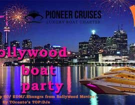 #30 for Designing Creatives for Bollywood Boat Cruise Party by Ruhulafnan