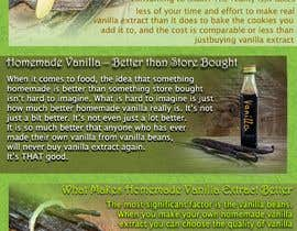#7 for Vanilla Extract Recipe Design Document by emymoud