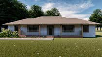 3D Rendering Entri Peraduan #38 for House Front Design - Farmstyle