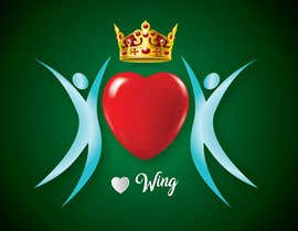 #112 for Create a heart with wings and crown Vector Image by shiekhrubel