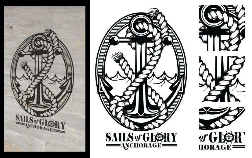 #23 para Sails of Glory Anchorage logo de crayonscrayola