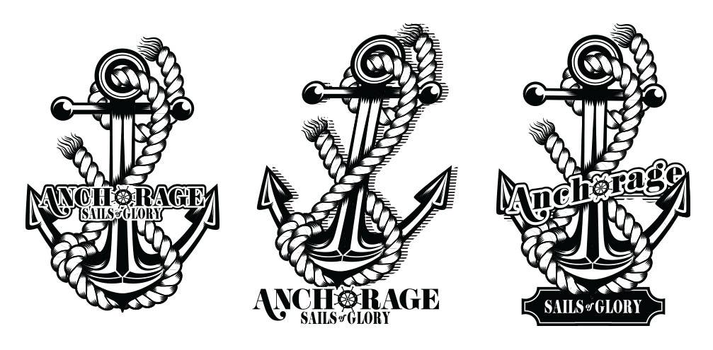 Contest Entry #                                        24                                      for                                         Sails of Glory Anchorage logo