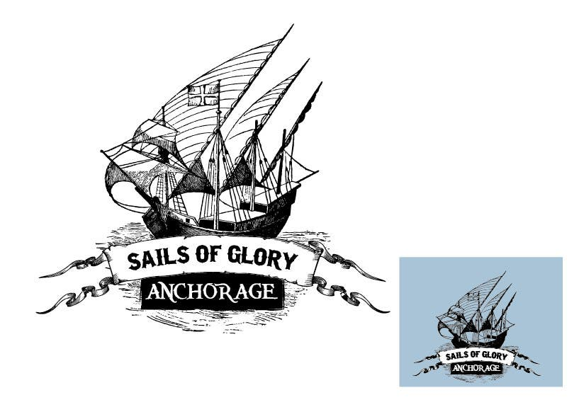 Natečajni vnos #12 za Sails of Glory Anchorage logo