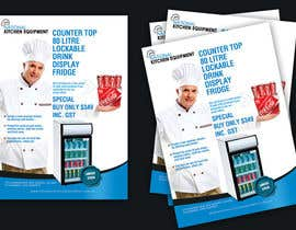 nº 6 pour Flyer Design for Counter Top Display Fridge par Royalecreations