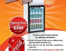 #4 for Flyer Design for Counter Top Display Fridge by Arttilla