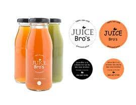 #12 для Design 2 labels for a juice glass bottle от bogdanarobochek