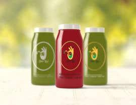 #8 для Design 2 labels for a juice glass bottle от RehmanDurrani76