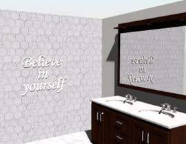 Nro 21 kilpailuun Bathroom wall mosaic design käyttäjältä gayatry