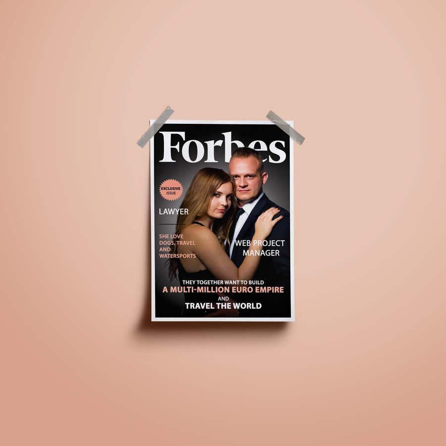 Konkurrenceindlæg #18 for Create a Forbes magazine poster.