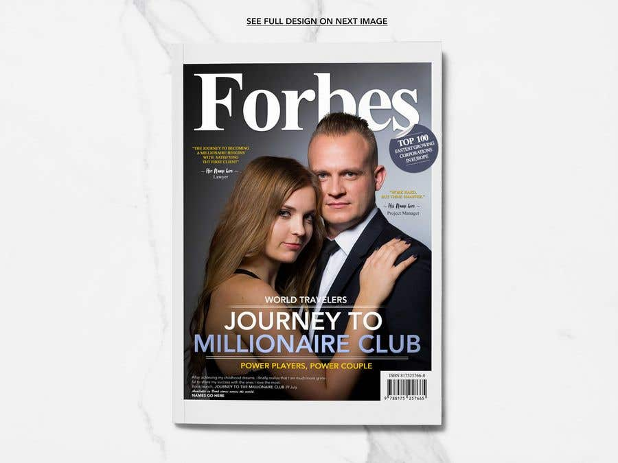 Konkurrenceindlæg #9 for Create a Forbes magazine poster.