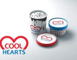 """#105 for Looking super cool logo for my Ice Cream Brand """"Cool Hearts"""" af arindamacharya"""