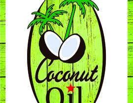 #41 untuk Coconut oil logo oleh chaveen
