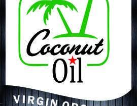 #42 untuk Coconut oil logo oleh chaveen