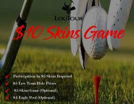 Nro 2 kilpailuun Promo graphic (golf) käyttäjältä SouravRoySumon