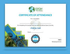 #31 for Certificate of Attendance Template by Aminul02