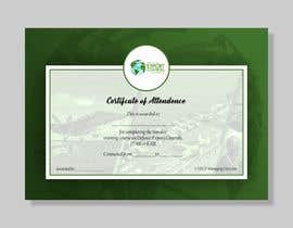 #11 for Certificate of Attendance Template by mtjobi