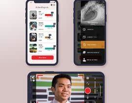 #29 cho Video Recording App UI  Design bởi ITEd0
