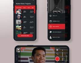 #34 cho Video Recording App UI  Design bởi ITEd0