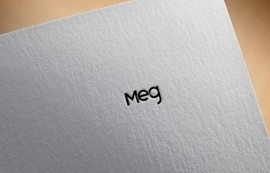 """Penyertaan Peraduan #347 untuk Need a logo design with """"MEG"""" text"""