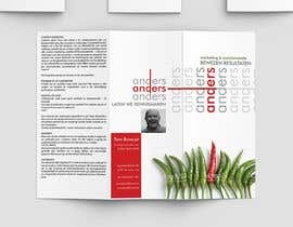 #4 for design a creative trifold A4 folder for my marketing agency by TetyanaRonska