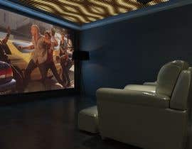 #13 untuk Photo Realistic 3D Rendering of Home Cinema oleh azeemkiyani786