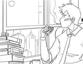 Nro 41 kilpailuun Illustrate A Lo-fi/Anime Style Graphic For Youtube käyttäjältä marcelmori
