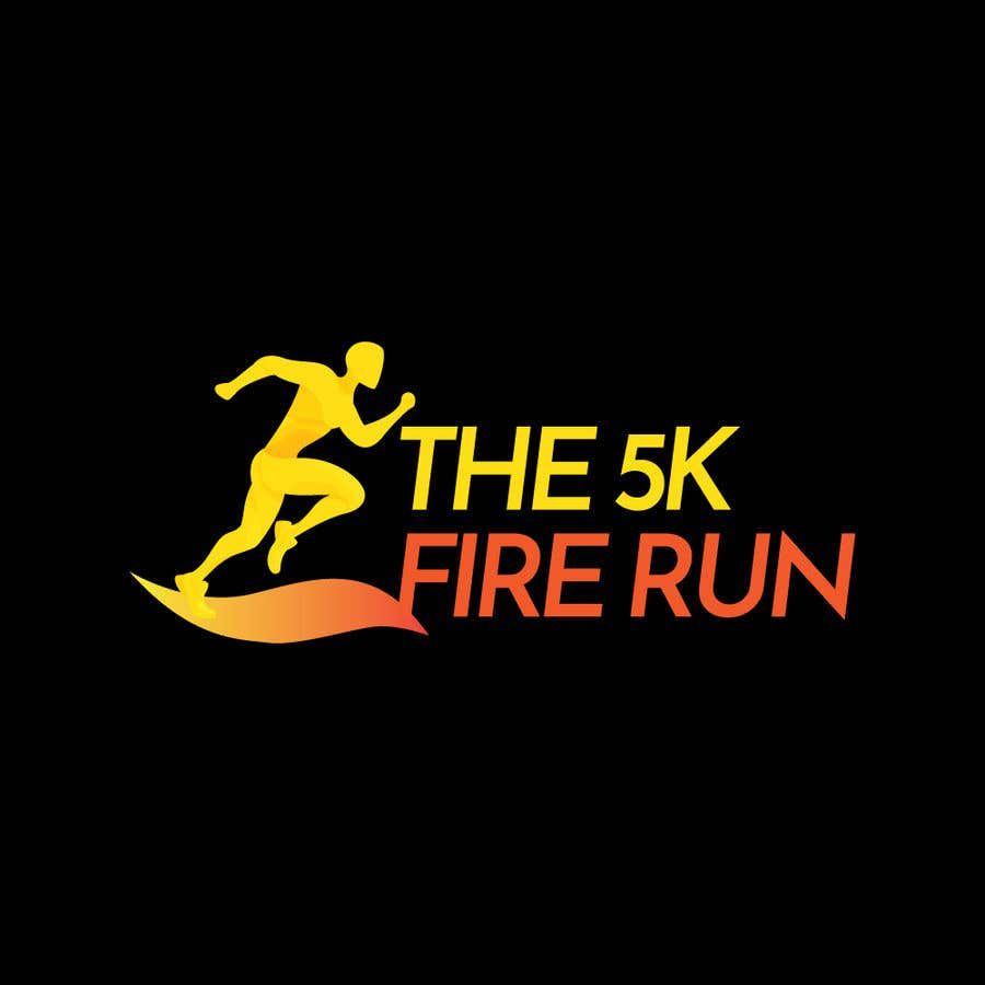 """Inscrição nº 8 do Concurso para Need a fake logo for the """"The 5K Fire Run"""" where people race on hot coals and fire in their bare feet"""