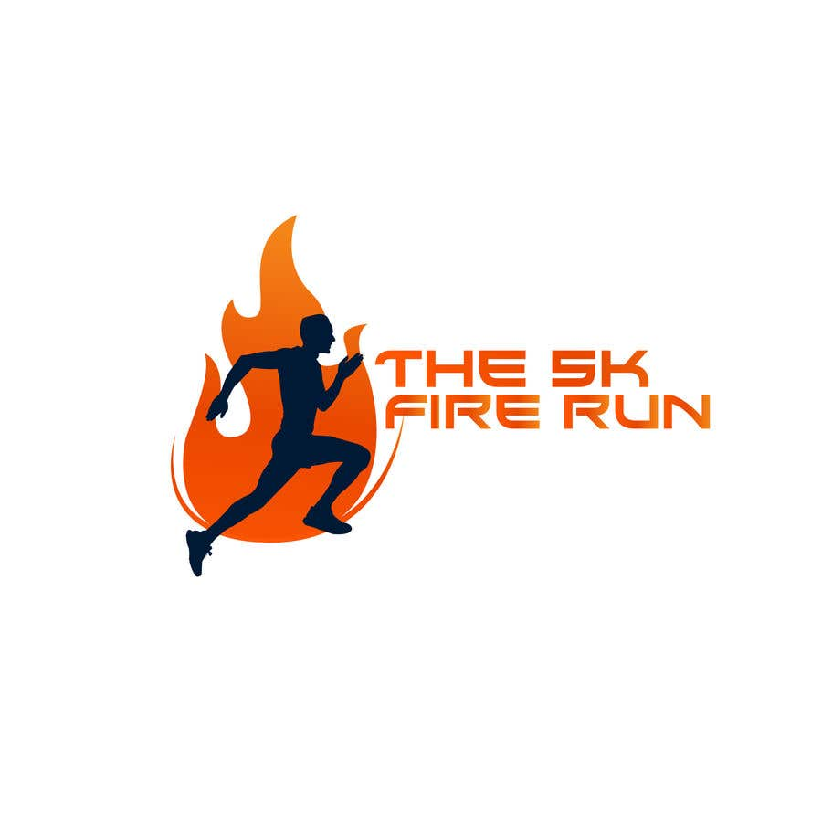 "Contest Entry #13 for Need a fake logo for the ""The 5K Fire Run"" where people race on hot coals and fire in their bare feet"
