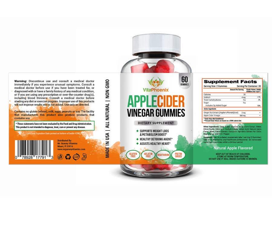 Inscrição nº 22 do Concurso para Create Attractive Label Design for Supplement Brand