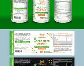 #25 para Create Attractive Label Design for Supplement Brand por Designersohraf