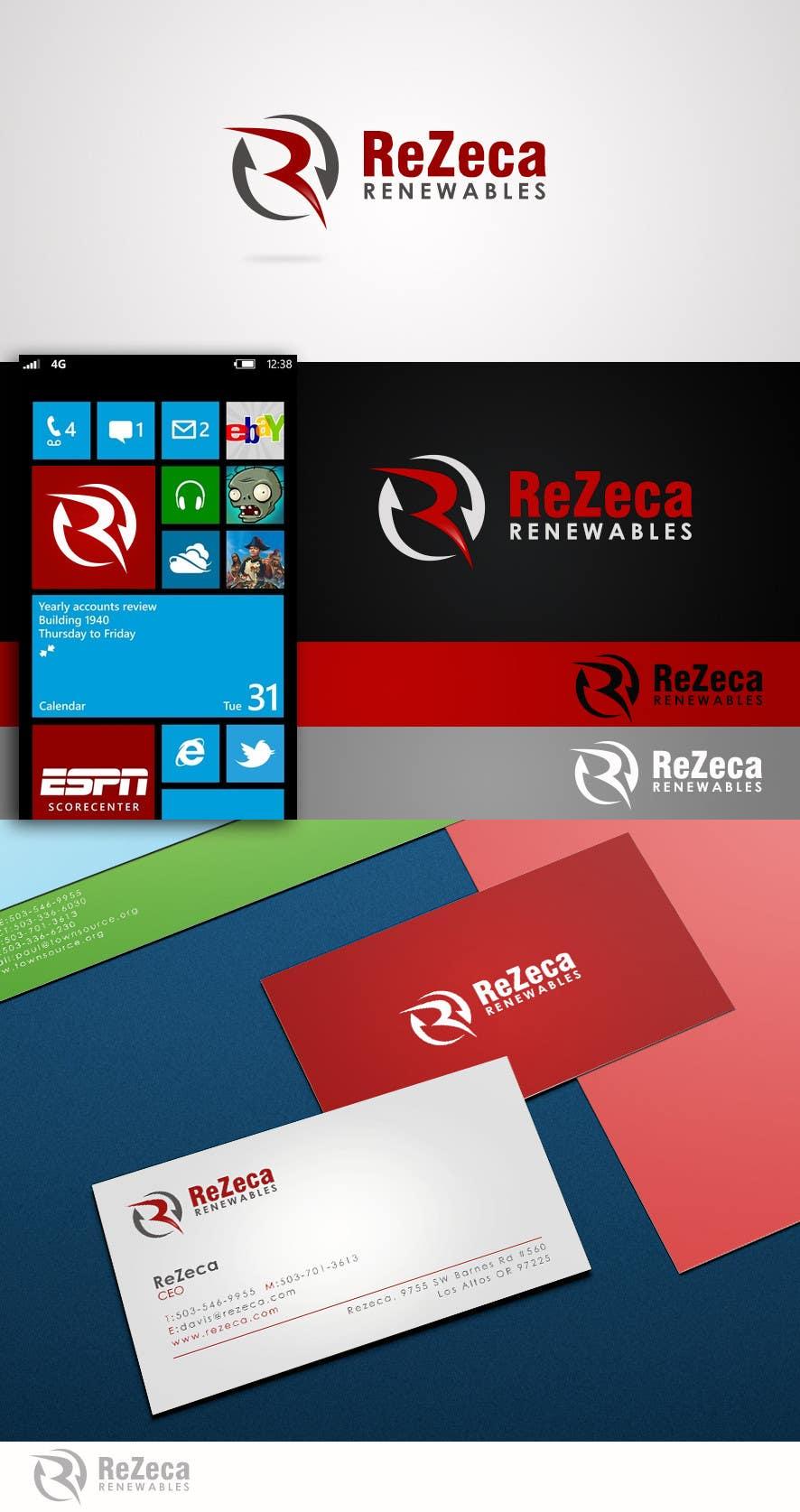 Inscrição nº 18 do Concurso para Logo Design for ReZeca Renewables