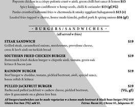 #3 for I need a graphic designer to re-design our menu af linhswift45