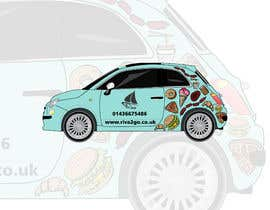 #52 cho half car wrap design bởi HohoDesign