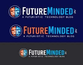 shakz07 tarafından FutureMinded - Futuristic Tech Blog Logo Design için no 63