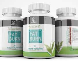 #24 for Fat Burner Supplement label by saminaakter20209