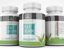 #24 para Fat Burner Supplement label por saminaakter20209