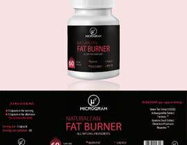 #9 for Fat Burner Supplement label by Droonk