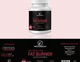 #9 para Fat Burner Supplement label por Droonk