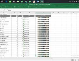#34 for Excel - convert numbers into scanable UPC A & E by Widiandika14