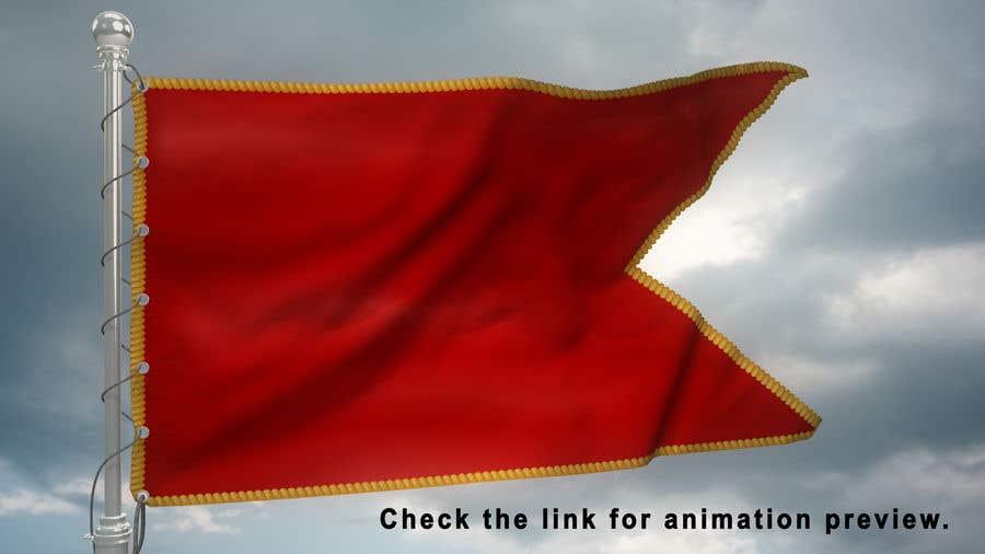 Bài tham dự cuộc thi #10 cho I need a flag with logo animation medieval style