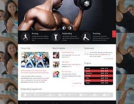 Nro 90 kilpailuun Redesign home page website käyttäjältä amir499
