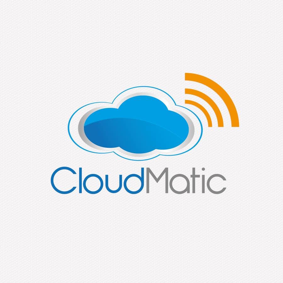 Proposition n°                                        55                                      du concours                                         Logo Design for CloudMatic